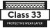 klasy 33 Warstwa użytkowa